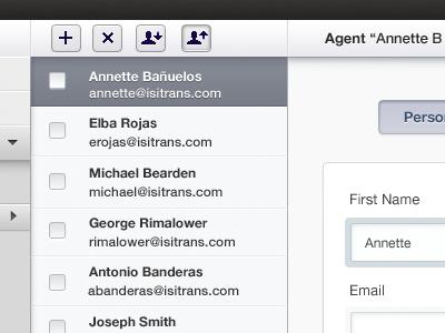 Fixes Contact Manager Highlight