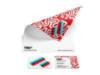 TEDx UniversityofGuilan Stationery Design