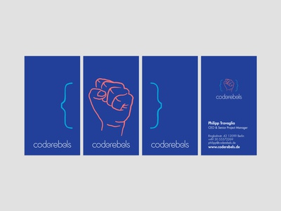 """Coderebels proposed """"Visual Identity"""" redesign"""