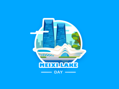 Meixi Lake International Culture Art Centre_day