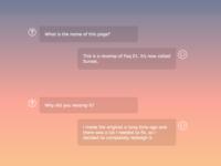 Sunset FAQ