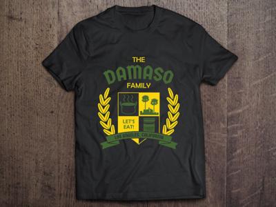 Damaso Family Crest graphic design damaso family damaso crest logo family crest