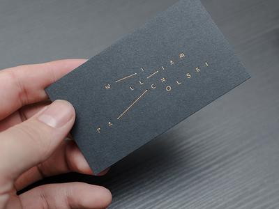 William Pacholski Business Card