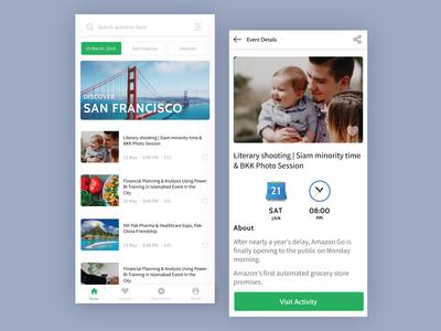 Find Activities App