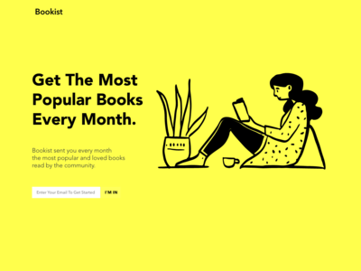 Book List Landing Page