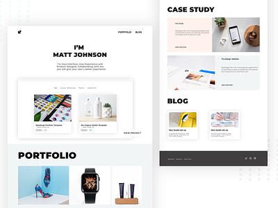 Product Designer Portfolio design ux xd userinterface website design portfolio site ui design ui