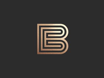BE monogram logo logotypes logo designer logo design lettering freelance designer monogram ligature wordmark custom type