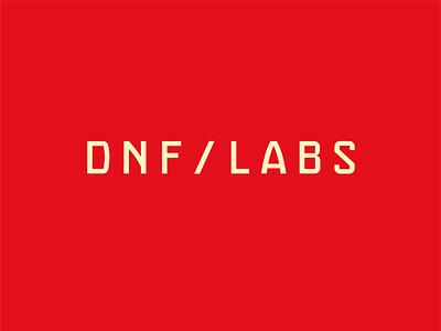 Unused logo option for DNF LABS handlettering tech logo modern logo clean logo type logo wordmark logo wordmark lettering dnflabs unusedlogo rejectedlogo
