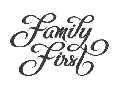 vector version of family first by bj246rn berglund dribbble