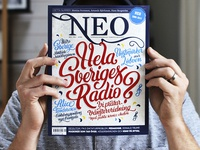 Cover letterings for NEO magazine