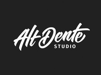 Final logo for Alt Dente Studio