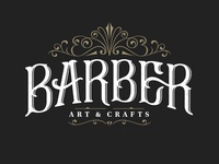 Final logo Barber, Art & Crafts