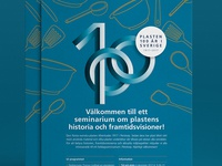 Symbol for 100 years of plastics in Sweden
