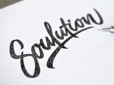 Soulution = Solution + Soul/Passion