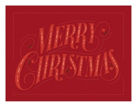"Lettering vector ""Merry Christmas"""