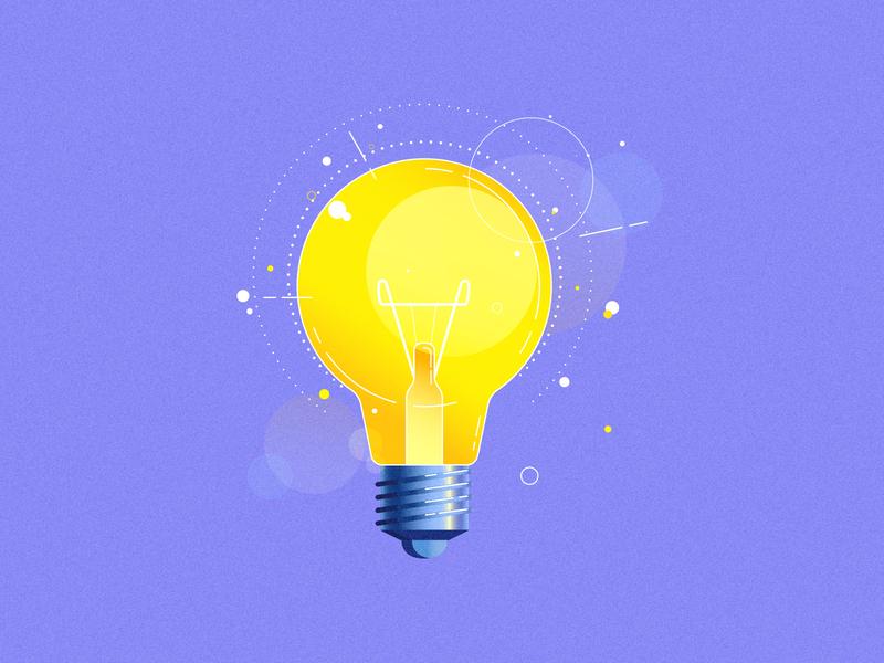 Icons grainy gradient design grain grain texture gradient details folder icon folder compass bulb icon motion employee 2d vector illustration
