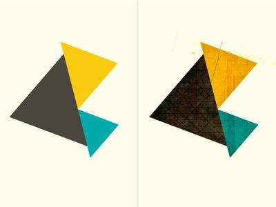 Dirty Flat (triangle) dirty flat dirty flat triangle shape texture