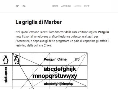Blog post blog grid post marber