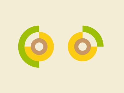 Circles minimal infographic circles