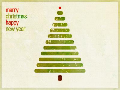 Christmas christmas minimal card