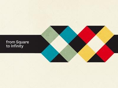 from Square To Infinity square infinity colors colour colours flat design