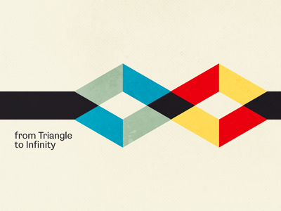 from Triangle to Infinity shape triangle infinity colors colours