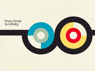 from Circle to Infinity circle infinity colours colors typography