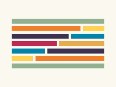 Grid grid shapes flat design minimal