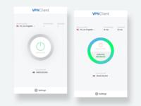 VPN App - Light version clean reseller android ios mobile app vpn ux