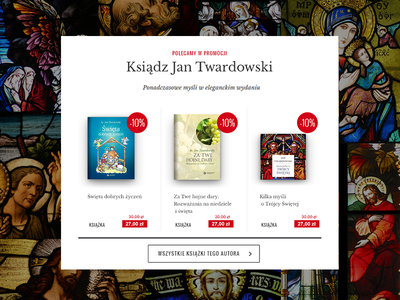 Special section on the catholic internet bookstore e-commerce bookstore books