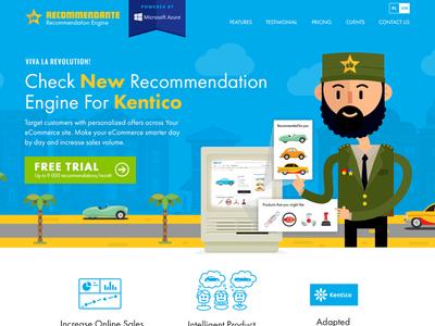 Recommendante - Recommendation engine