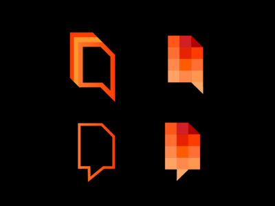Cryptocurrency blog ⛏️ 📰   - logo concepts