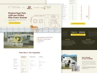 🐕🐩 Picket Play Fence System 🐕🐩 - Landing page