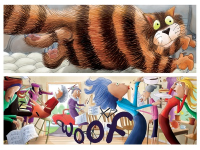 Children's Book Illustrations childrens book childrens art childrens