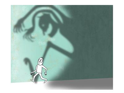 Egomind mindfulness compassionate mind mentalhealth mental health awareness inner critic egomind illustration