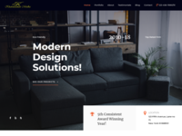Interior Firm Website Design