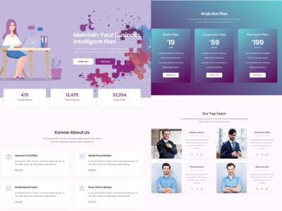 Creative Idea Website Design