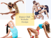 Dance Club Website Design