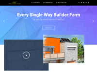 Builder Farm Website Design