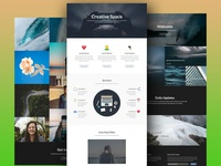 Portfolio Landing Pages Design