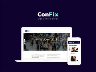 ConFix - Expo & Events WordPress Theme events wordpress theme events wordpress theme business wordpress design wordpress themes web design wordpress wordpress theme