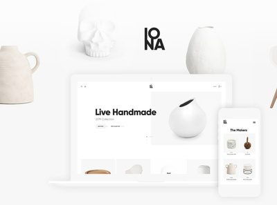 Iona - Handmade & Crafts Shop WordPress Theme wordpress handmade theme handmade shop wordpress shop wordpress design wordpress themes web design wordpress wordpress theme