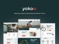 Yokoo - Bike Shop & Rental WordPress Theme