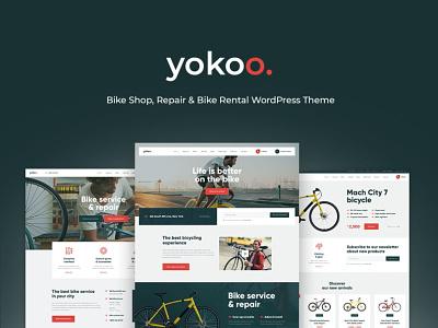 Yokoo - Bike Shop & Rental WordPress Theme wordpress design webdesign wordpress themes web design wordpress wordpress theme
