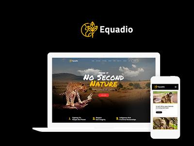 Equadio - Non-Profit and Environmental WordPress Theme wordpress design webdesign wordpress themes web design wordpress wordpress theme