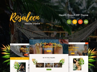 Rosaleen - Health Coach, Speaker & Motivation WordPress Theme blogging blog wordpress theme blog wordpress design webdesign business wordpress themes web design wordpress wordpress theme