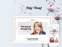 Kelly Young - Personal Stylist WordPress Theme wordpress blog theme blog wordpress theme blogging blog wordpress design webdesign wordpress themes web design wordpress wordpress theme