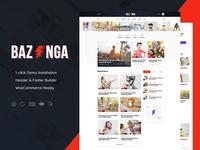 Bazinga | Magazine & Viral Blog WordPress Theme