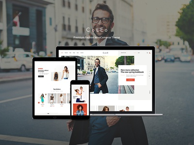 Fashion Store Wordpress Theme Designs Themes Templates And Downloadable Graphic Elements On Dribbble