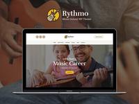 Rythmo | Music School WordPress Theme